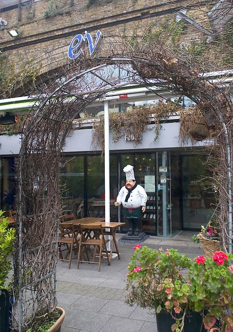 Exterior, EV Restaurant, London, England