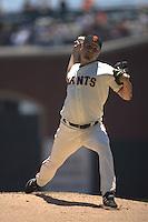 Jason Schmidt. Baseball: Texas Rangers vs San Francisco Giants at AT&T Park in San Francisco, CA on June 29, 2006. Photo by Brad Mangin