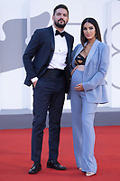 Pietro Tartaglione and Rosa Perrotta attending the America Latina Premiere as part of the 78th Venice International Film Festival in Venice, Italy on September 09, 2021. <br /> CAP/MPI/IS/PAC<br /> ©PAP/IS/MPI/Capital Pictures