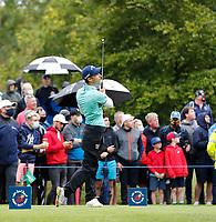 3rd July 2021; Mount Juliet Golf Club, Kilkenny, Ireland; Dubai Duty Free Irish Open Golf, Day Three; Matthew Jordan of England tees off on the 6th hole