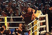 Vitali Klitschko (UKR) mit seinem Bruder Wladimir<br /> Vitali Klitschko vs. Juan Carlos Gomez, Hanns-Martin Schleyer Halle *** Local Caption *** Foto ist honorarpflichtig! zzgl. gesetzl. MwSt. Auf Anfrage in hoeherer Qualitaet/Aufloesung. Belegexemplar an: Marc Schueler, Am Ziegelfalltor 4, 64625 Bensheim, Tel. +49 (0) 151 11 65 49 88, www.gameday-mediaservices.de. Email: marc.schueler@gameday-mediaservices.de, Bankverbindung: Volksbank Bergstrasse, Kto.: 151297, BLZ: 50960101