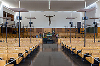 Saint Mary of the Angels Catholic Church Prayer Hall, Singapore.