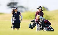 Amy Im during the New Zealand Amateur Golf Championship, Poverty Bay Golf Course, Awapuni Links, Gisborne, Saturday 24 October 2020. Photo: Simon Watts/www.bwmedia.co.nz