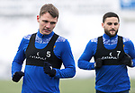 St Johnstone Training…. 15.01.21<br />Jason Kerr pictured during training at McDiarmid Park ahead of tomorrows game against St Mirren<br />Picture by Graeme Hart.<br />Copyright Perthshire Picture Agency<br />Tel: 01738 623350  Mobile: 07990 594431