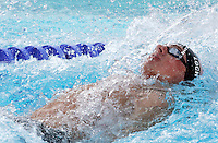 U.S. Aaron Peirsol swims to set the new world record clocking 1.51.92 in the Men's 200m Backstroke final at the Swimming World Championships in Rome, 31 July 2009..UPDATE IMAGES PRESS/Riccardo De Luca