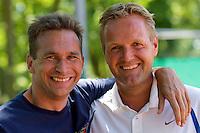 11-08-10, Hillegom, Tennis,  NJK 12 tm 18 jaar, Tom Kempers en Tjerk Bogtstra(R)