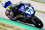 WorldSBK supported test SSP600 day 2 at Circuit de Barcelona-Catalunya, picture show C. Bergman riding Yamaha YZF R6 from Wojcik Racing Team