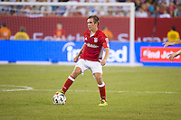 EAST RUTHERFORD, NJ - Wednesday August 3, 2016: Bayern Munich takes on Real Madrid as part of the Guinness International Champions Cup at MetLife Stadium, home of the New York Jets and Giants.
