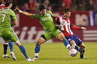 Club Deportivo Chivas USA vs Seattle Sounders FC October 22 2011