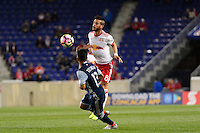 Harrison, NJ - Wednesday Feb. 22, 2017: Felipe Martins during a Scotiabank CONCACAF Champions League quarterfinal match between the New York Red Bulls and the Vancouver Whitecaps FC at Red Bull Arena.