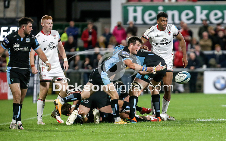 Friday 24th September 2021<br /> <br /> George Horne during the URC Round 1 clash between Ulster Rugby and Glasgow Warriors at Kingspan Stadium, Ravenhill Park, Belfast, Northern Ireland. Photo by John Dickson/Dicksondigital