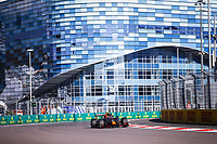 24th September 2021; Sochi, Russia; F1 Grand Prix of Russia free practise sessions;  PEREZ Sergio mex, Red Bull Racing Honda RB16B, action during the Formula 1 VTB Russian Grand Prix