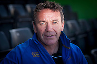 Mike Ford, Bath Rugby Head Coach, during the Aviva Premiership Rugby launch at  the Twickenham Stoop on Thursday 08 October 2015 (Photo by Rob Munro/Stewart Communications)