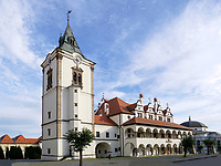 Rathaus-radnica  in Levoca - Leutschau, Presovsky kraj, Slowakei, Europa<br /> townhall radnica in Levoca, Presovsky kraj, Slovakia, Europe