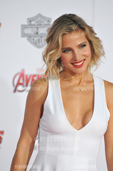 """Elsa Pataky at the world premiere of """"Avengers: Age of Ultron"""" at the Dolby Theatre, Hollywood.<br /> April 13, 2015  Los Angeles, CA<br /> Picture: Paul Smith / Featureflash"""