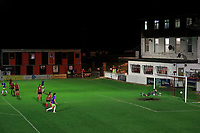 Laura Hartley of Lewes is beaten by a long range shot from Ebony Salmon of Bristol City during Lewes Women vs Bristol City Women, FA Women's Continental League Cup Football at The Dripping Pan on 18th November 2020
