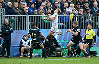 16 November 2019; Rob Lyttle claims this high ball during the Heineken Champions Cup Pool 3 Round 1 match between Bath and Ulster at The Recreation Ground in Bath, England. Photo by John Dickson/DICKSONDIGITAL