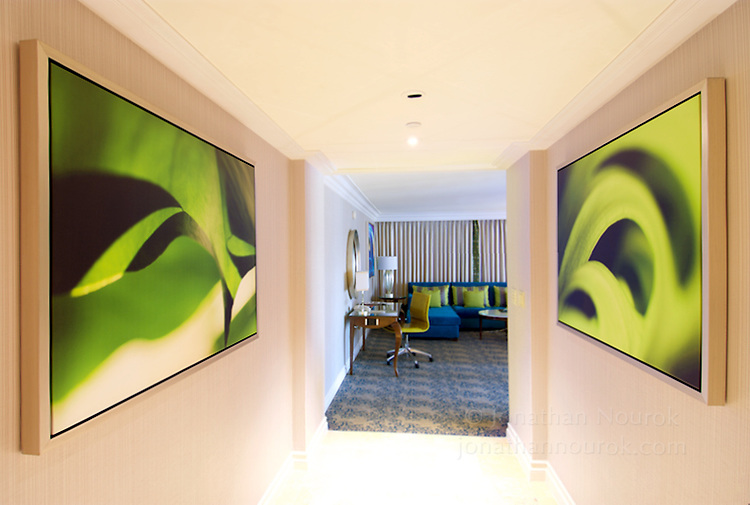 A four star hotel suite in Las Vegas, Nevada. Canvas prints.