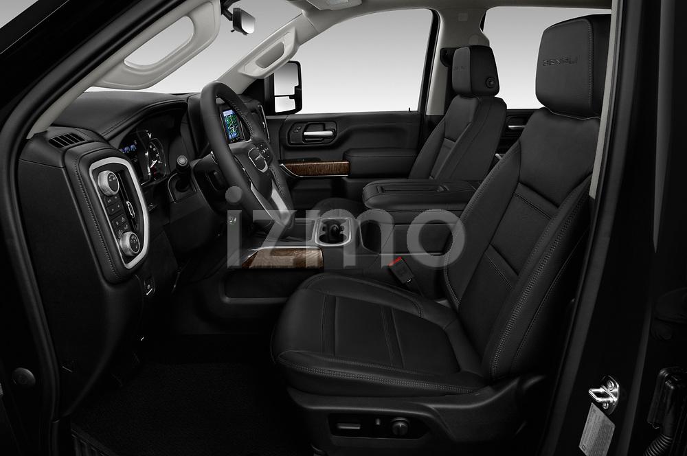 Front seat view of 2020 GMC Sierra Denali 4 Door Pick-up Front Seat  car photos