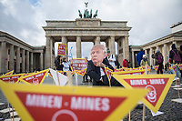 2020/02/18 Politik | Berlin | Protest gegen Landminen