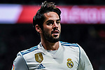Isco Alarcon of Real Madrid looks on during the La Liga 2017-18 match between Atletico de Madrid and Real Madrid at Wanda Metropolitano  on November 18 2017 in Madrid, Spain. Photo by Diego Gonzalez / Power Sport Images