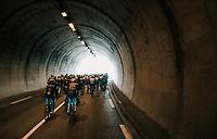 tunnel vision<br /> <br /> 76th Paris-Nice 2018<br /> stage 6: Sisteron > Vence (198km)
