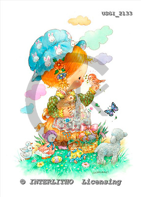 GIORDANO, CHILDREN, KINDER, NIÑOS, paintings+++++,USGI2133,#K# ,everyday