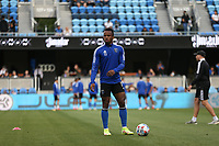SAN JOSE, CA - AUGUST 13: Jeremy Ebobisse #11 of the San Jose Earthquakes before a game between Vancouver Whitecaps and San Jose Earthquakes at PayPal Park on August 13, 2021 in San Jose, California.