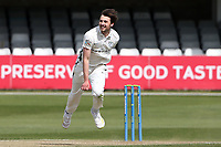 Ed Barnard in bowling action for Worcestershire during Essex CCC vs Worcestershire CCC, LV Insurance County Championship Group 1 Cricket at The Cloudfm County Ground on 9th April 2021