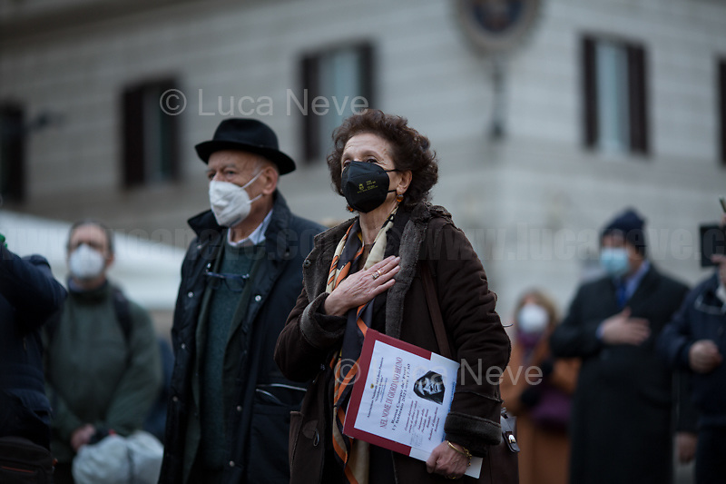 "Maria Mantello (President of the Assaciazione Nazionale del Libero Pensiero ""Giordano Bruno"").<br />
