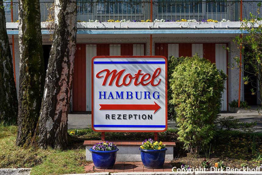 Motel Hamburg, Hoheluftchaussee 117-119, Hamburg, Deutschland, Europa<br /> Hamburg, Germany, Europe