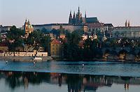 Hradschin und Moldau, Prag, Tschechien, Unesco-Weltkulturerbe