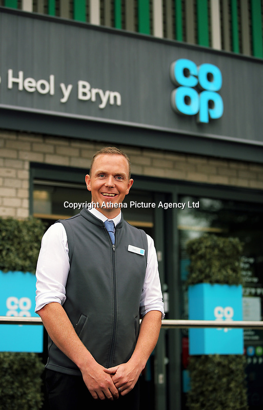 Store manager Aled Jones