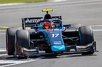 16th July 2021; Silverstone Circuit, Silverstone, Northamptonshire, England; F2 British Grand Prix, Free Practice; Marcus Armstrong in his DAMS Dallara F2 2018