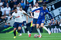 19th September 2021; Tottenham Hotspur Stadium, Tottenham, London; Kai Havertz plays past Romero during the Premier League match between Tottenham Hotspur and Chelsea at Tottenham Hotspur Stadium