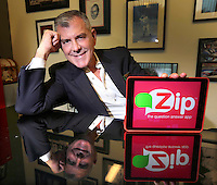 Jan.7, 2015. San Diego, CA. USA.|Zip Questions CEO Ric Militi. |Photos by Jamie Scott Lytle. Copyright.