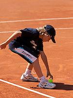 15-8-09, Den Bosch,Nationale Tennis Kampioenschappen, Finale vrouwen, Ballenkind