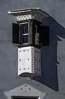 Europe/Suisse/Engadine/Celerina: Maison et façade
