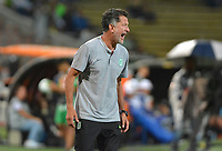 MEDELLÍN - COLOMBIA ,23-10-2019:Juan Carlos Osorio director técnico del Atlético Nacional ante Envigado   durante partido por la fecha 19 de la Liga Águila II 2019 jugado en el estadio Atanasio Girardot de la ciudad de Medellín. /Juan Carlos Osorio coach of  Atletico Nacional agaisnt of Envigado  during the match for the date 19 of the Liga Aguila I 2019 played at the Atanasio Girardot  Stadium in Medellin  city. Photo: VizzorImage / León Monsalve / Contribuidor.