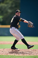 Pittsburgh Pirates pitcher Jordan Jess (80) during an Instructional League Intrasquad Black & Gold game on September 28, 2016 at Pirate City in Bradenton, Florida.  (Mike Janes/Four Seam Images)