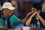 Director He Ping at the China Film Makers Forum on the sidelines of the World Celebrity Pro-Am 2016 Mission Hills China Golf Tournament on 21 October 2016, in Haikou, China. Photo by Marcio Machado / Power Sport Images
