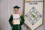 Burton, Connor  received their diploma at Bryan Station High school on  Thursday June 4, 2020  in Lexington, Ky. Photo by Mark Mahan Mahan Multimedia