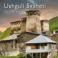 Pictures & Images of Historic Svaneti Tower Houses, Ushguli, Upper Svaneti, Georgia, Europe