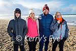 Enjoying a stroll in Banna beach on Sunday, l to r: Jordan and Nicole O'Sullivan, Declan and Martina O'Brien