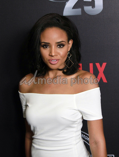 """10 September 2017 - Beverly Hills, California - Meagan Tandy. Netflix """"Def Comedy Jam 25"""" held at The Beverly Hilton. Photo Credit: Theresa Bouche/AdMedia"""