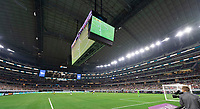 DALLAS, TX - JULY 25: A photo of AT&T Stadium taken during a game between Jamaica and USMNT at AT&T Stadium on July 25, 2021 in Dallas, Texas.