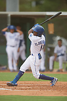 Omar Florentino (1) of the ACL Royals Blue during a game against the ACL Diamondbacks on September 17, 2021 at Surprise Stadium in Surprise, Arizona. (Tracy Proffitt/Four Seam Images)
