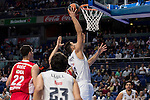 Real Madrid and Crvena Zvezda Telekom during Euroligue Basketball at Barclaycard Center in Madrid, October 22, 2015<br /> Felipe Reyes.<br /> (ALTERPHOTOS/BorjaB.Hojas)