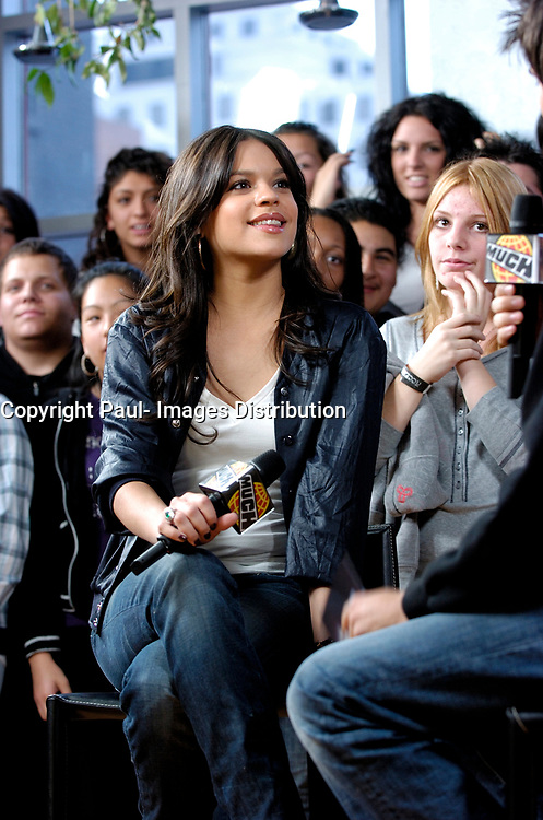 """Canadian Singer Eva Avila live at Much on Demand to promote her new CD """"Give Me The Music."""" Eva answered question from her fans live and over the internet. October 15, 2008."""