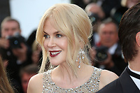 NICOLE KIDMAN 'The Beguiled' Red Carpet Arrivals - The 70th Annual Cannes Film Festival<br /> CANNES, FRANCE - MAY 24: (L-R) Angourie Rice, Colin Farrell, Nicole Kidman, director Sofia Coppola, Kirsten Dunst, Elle Fanning and Addison Riecke attend the 'The Beguiled' screening during the 70th annual Cannes Film Festival at Palais des Festivals on May 24, 2017 in Cannes, France